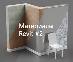 [Материалы Revit] #2. Настройка материалов Revit: шейдеры, цвет, изображение и процедурные текстуры