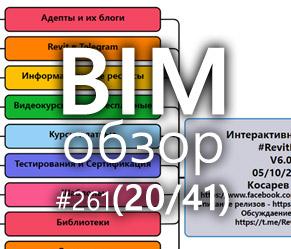 BIMобзор #261 (41) - Систематизируй это
